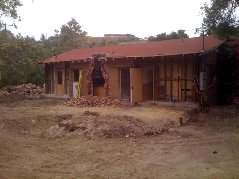 Existing Adobe Building Pre-Construction